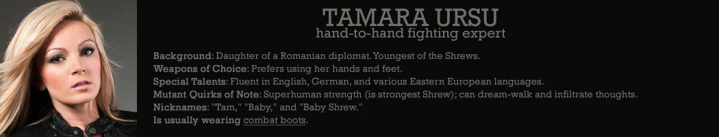 Tamara Ursu Shrew and Company