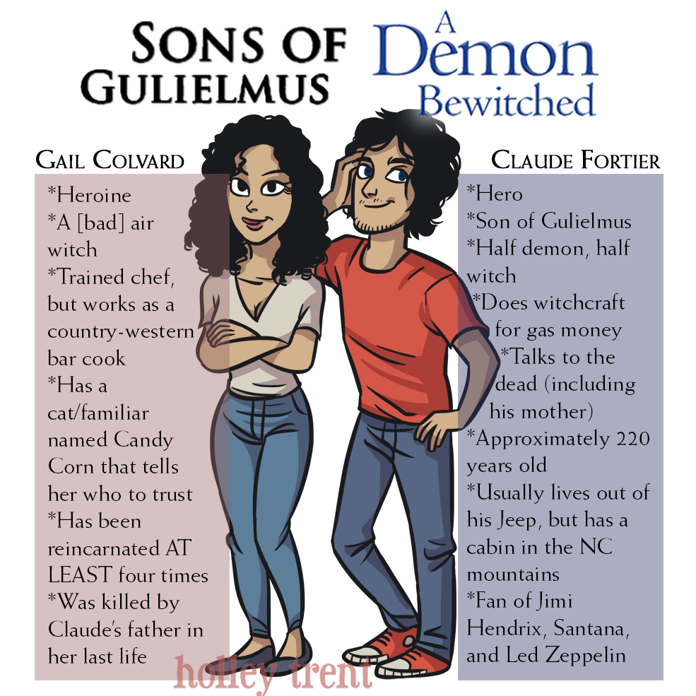 Gail Colvard and Claude Fortier Sons of Gulielmus A Demon Bewitched