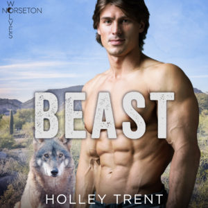 Beast Holley Trent audiobook cover