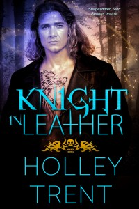 Knight in Leather by Holley Trent cover
