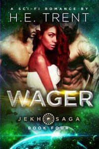 Wager Jekh Saga cover MFM sci fi romance