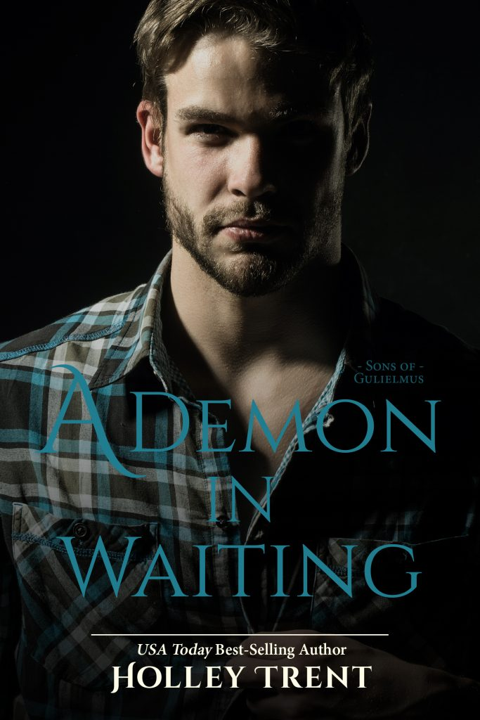 Cover of A Demon in Waiting by Holley Trent