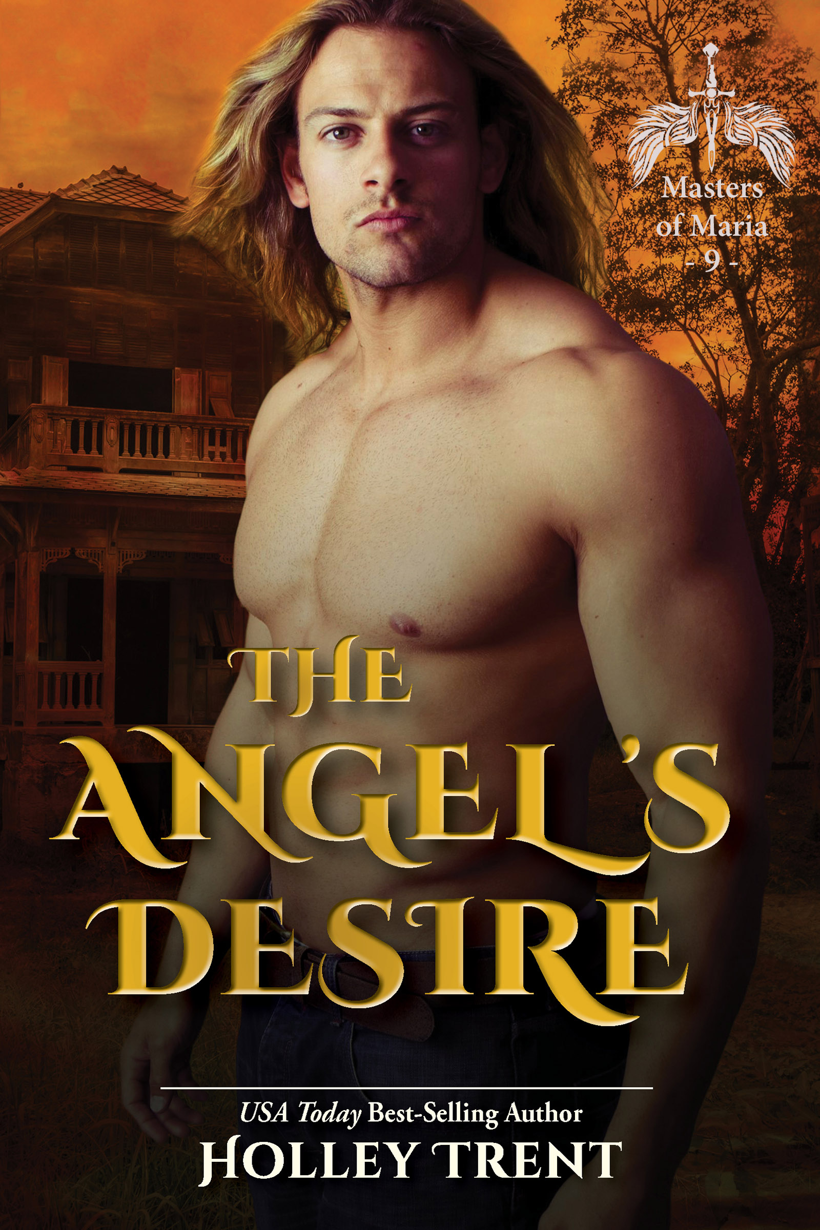 Cover of The Angel's Desire by Holley Trent